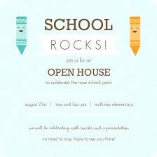 Open House Invitation Template Free Opusv Co