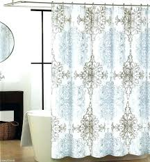 large size of shower curtain target gray fabric curtains blue and white targ