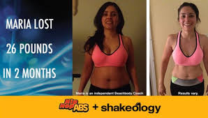 maria lost 26 pounds with hip hop abs
