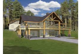 Marvelous design hillside house plans eplans a frame plan haven with two levels of