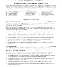 mechanical sample resume quality engineer resume sample wikirian com