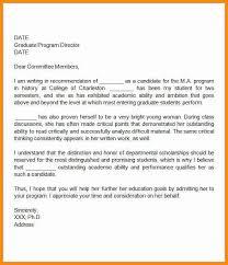 school re mendation letter sample letter of re mendation for graduate school from friend
