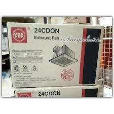 exhaust ceiling fan plafon cerobong 6 24cdqn merk kdk garansi
