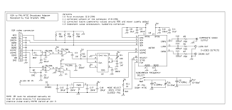 vga to rca wire diagram vga to pal and ntsc video converter circuit diagram