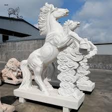 large modern garden sculpture stone