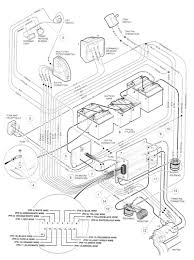 Club car wiring diagram best of 2001 48 volt with