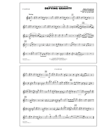 defying gravity sheet music download defying gravity from wicked eb alto sax sheet music by