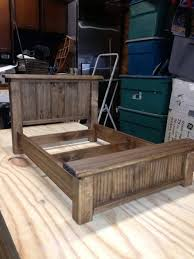 Another Doll Bed - Made from Pallet wood