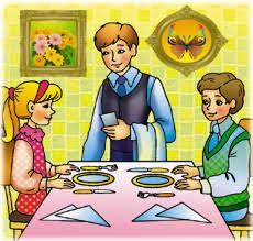 Понятие этикета при потреблении пищи Правила поведения за столом  Рис 200 Правильное расположение за столом