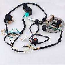 pit bike parts & accessories ebay Roketa 110cc Pit Bike Wiring 50 125cc kick start dirt pit bike wire harness cdi coil magneto fits lifan lonci Sunl 125Cc Pit Bikes