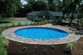 semi inground pool ideas. Semi Inground Pool Cost Pools Best Ideas Prices Long Island