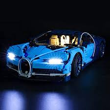 The lego technic is fitted with real bugatti wheels. Amazon Com Briksmax Led Lighting Kit For Bugatti Chiron Compatible With Lego 42083 Building Blocks Model Not Include The Lego Set Toys Games