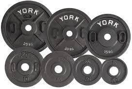 york weights. 2\u2033 calibrated kilo olympic plate (metric) york weights e