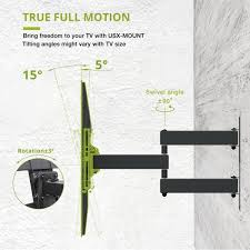 usx mount fixed low profile tv wall