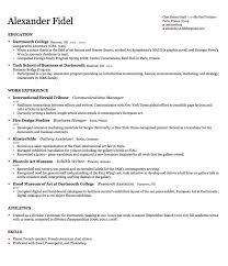 Harvard Resume Template Jmckell Com