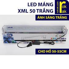 Đèn Led máng XML 50 trắng Đèn thủy sinh cho hồ 50-55cm   Đèn hồ cá