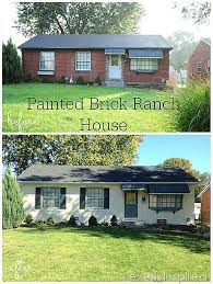 brick houses painted before and after know you love a good before and after as much as i do so here are