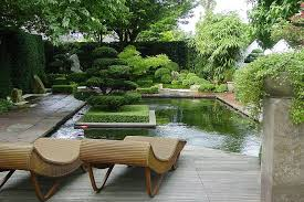 Pictures of an asian style garden