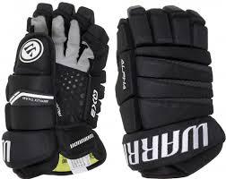 <b>Перчатки хоккейные WARRIOR Alpha</b> QX3 черный/белый принт ...
