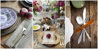 Setting A Dinner Table Perfect Rustic Elegant Table Settings Love The Texture