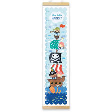 Personalised Height Chart Personalised Pirate Height Chart