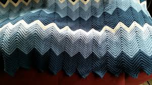 Ripple Afghan Patterns Simple Ravelry Ripple Ridge Afghan Pattern By Ronni Franklin