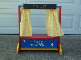 table top puppet theater