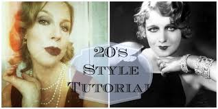20s makeup tutorial flapper makeup and hair great gatsby inspired looks