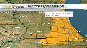 Severe weather begins to exit the Stateline
