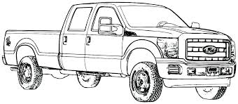 ford coloring pages truck color old trucks semi f150