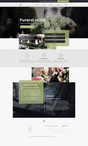 Funeral Home Website Templates Mobile Responsive Designs - Home design website