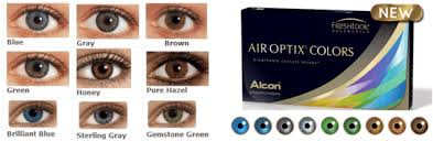 Freshlook Lenses Colors Chart Colored Contact Lenses Green Freshlook Color Chart Full
