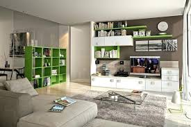 modular living room furniture. Modular Living Room Furniture Green Bookshelves Cabinets Glass Table Sofa Corner Carpet