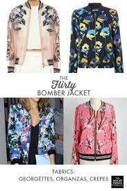 Bomber Jacket Pattern