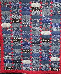 89 best Indigo Quilts images on Pinterest | Artists, Asian quilts ... & Mostly Japanese Indigo fabric quilt.all hand made. Adamdwight.com