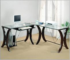 glass office tables. Glass Office Table Design Ombitec For Top Desk Home Pics With Tables