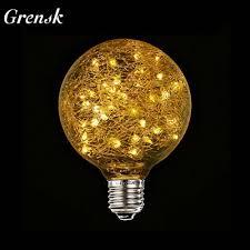 Christmas Lights That Look Like Light Bulbs Grensk G95 Led Globe Bulb Decorative Light Bulbs Fairy