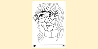 See more ideas about coloring pages, printable coloring pages, kids printable coloring pages. Free Famous Artist Colouring Page For Kids Picasso
