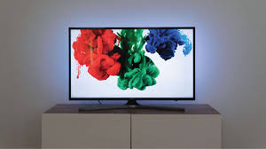 this simple solution improves contrast ratio through balanced white tv accent lighting and reduces eye strain caused by changes in picture brightness from