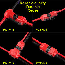 t cable wiring reviews online shopping t cable wiring reviews 8 pcs 2pt shape spring connector led strip light wire connecting no welding no screws quick connector cable clamp terminal block