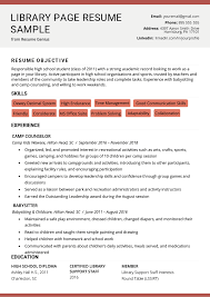 Building A Free Resumes Library Page Resume Sample And Resume Building Tips Rg