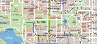 national mall map in washington dc  wheretraveler