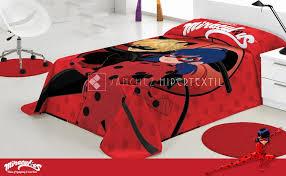 blanket raschel miraculous ladybug