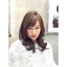 レディース パーマ エレガント Flowerフラワーのヘアスタイル