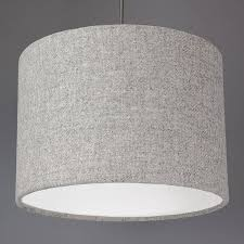 fancy charcoal grey lamp shades for your extra large ceiling