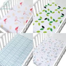100% <b>Cotton Crib</b> Fitted Sheets Super <b>Soft</b> Breathable Toddler ...