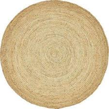 braided jute dhaka natural 8 0 x 8 0 round rug