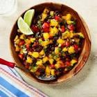 black beans and mango salad