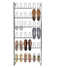 shoes with wall mounted shoe rack