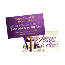 Customizable Easter Invite Cards Jesus Is Alive 2x3 5 Printed Size